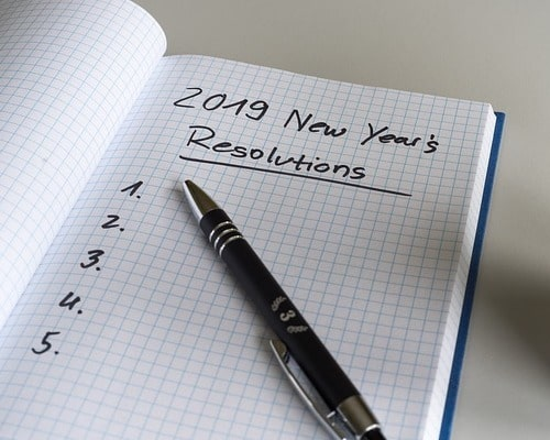 Wellness Resolutions for 2019